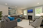 Contemporary Style House Plan - 5 Beds 3.5 Baths 3319 Sq/Ft Plan #569-38 Interior - Family Room