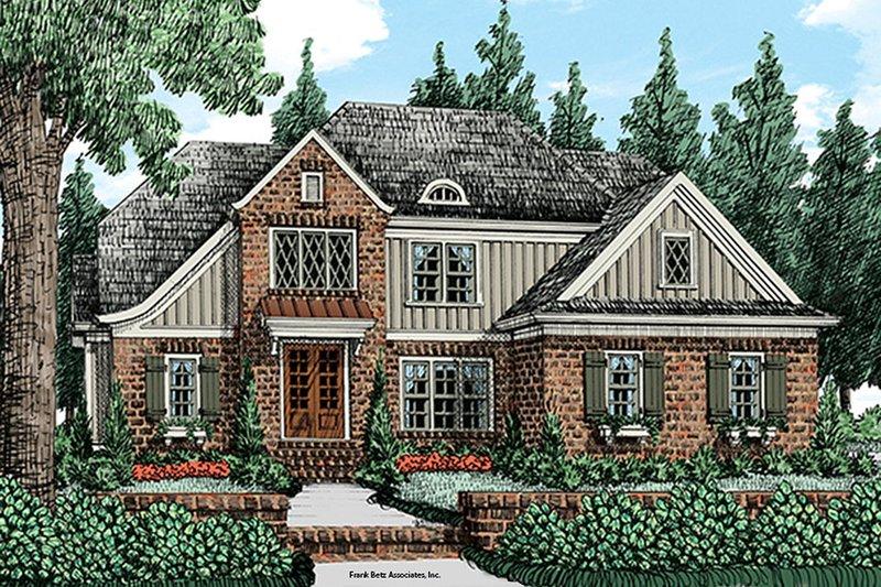 Home Plan - Cottage Exterior - Front Elevation Plan #927-977