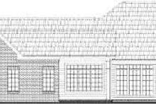 Home Plan - European Exterior - Rear Elevation Plan #21-136