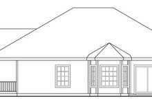 Dream House Plan - Ranch Exterior - Other Elevation Plan #124-313
