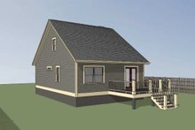 House Plan Design - Cottage Exterior - Other Elevation Plan #79-140