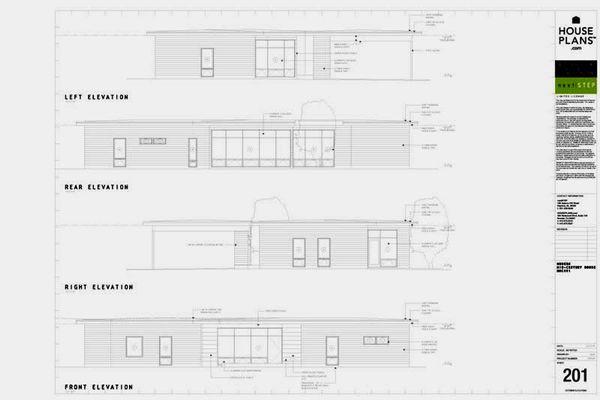 Modern Floor Plan - Other Floor Plan #460-3