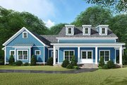 Country Style House Plan - 3 Beds 2.5 Baths 2031 Sq/Ft Plan #923-129 Exterior - Front Elevation