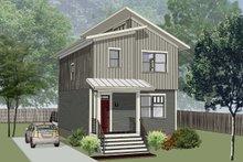 Architectural House Design - Modern Exterior - Front Elevation Plan #79-291