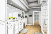 Farmhouse Style House Plan - 4 Beds 2 Baths 1971 Sq/Ft Plan #406-9666