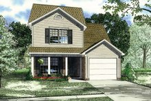 Home Plan - Country Exterior - Front Elevation Plan #17-236