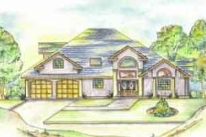Dream House Plan - Traditional Exterior - Front Elevation Plan #117-219