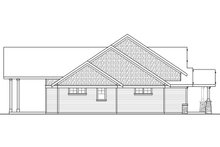 House Plan Design - Craftsman Exterior - Other Elevation Plan #124-1024