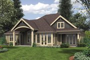 Craftsman Style House Plan - 4 Beds 3.5 Baths 3084 Sq/Ft Plan #48-615 Exterior - Rear Elevation