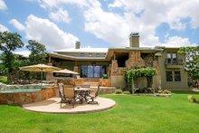 Dream House Plan - Prairie Exterior - Rear Elevation Plan #80-211