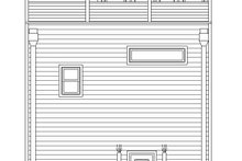 House Design - Contemporary Exterior - Rear Elevation Plan #932-243