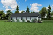 Contemporary Style House Plan - 3 Beds 2.5 Baths 2798 Sq/Ft Plan #48-971 Exterior - Other Elevation