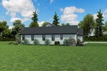 House Plan Design - Contemporary Exterior - Other Elevation Plan #48-971