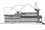 Victorian Style House Plan - 3 Beds 3 Baths 3457 Sq/Ft Plan #124-559 Exterior - Other Elevation