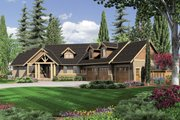 Craftsman Style House Plan - 3 Beds 2.5 Baths 2907 Sq/Ft Plan #48-517 Exterior - Front Elevation