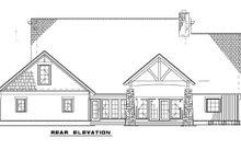 Home Plan - Craftsman Exterior - Rear Elevation Plan #17-2372