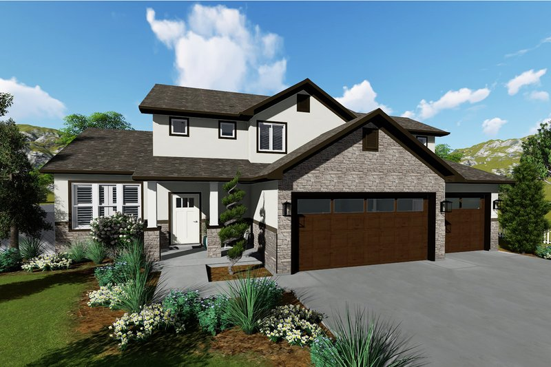 House Design - Traditional Exterior - Front Elevation Plan #1060-37