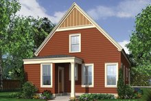 House Plan Design - Beach Exterior - Rear Elevation Plan #48-974