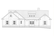 Architectural House Design - Farmhouse Exterior - Other Elevation Plan #437-126