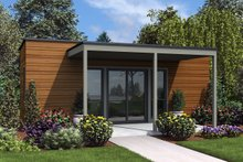 Contemporary Exterior - Front Elevation Plan #48-953
