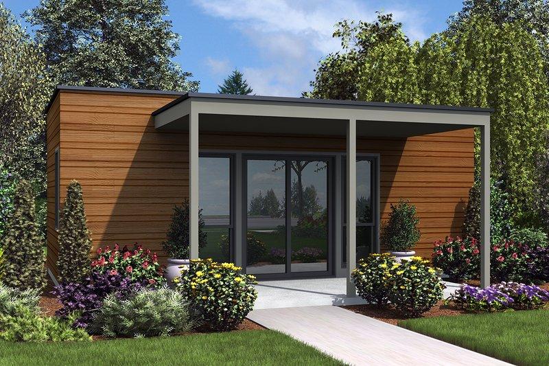 House Plan Design - Contemporary Exterior - Front Elevation Plan #48-953