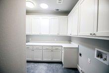 House Plan Design - Craftsman Interior - Laundry Plan #20-2412
