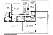 Ranch Style House Plan - 2 Beds 2.5 Baths 2160 Sq/Ft Plan #70-1462