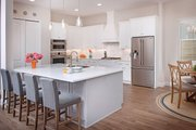 Contemporary Style House Plan - 4 Beds 4 Baths 3582 Sq/Ft Plan #938-92 Interior - Kitchen