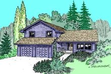 Dream House Plan - Traditional Exterior - Front Elevation Plan #60-476
