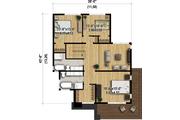 Modern Style House Plan - 3 Beds 2.5 Baths 2370 Sq/Ft Plan #25-4415 Floor Plan - Upper Floor Plan