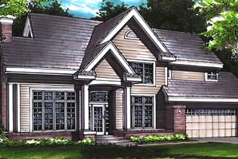 Traditional Exterior - Front Elevation Plan #320-461