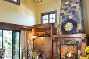 European Style House Plan - 3 Beds 3.5 Baths 4142 Sq/Ft Plan #48-625 Interior - Family Room