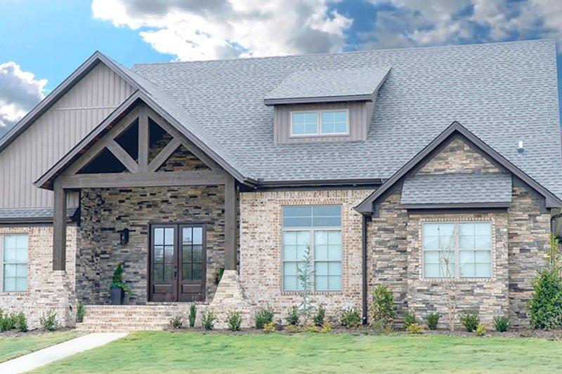 House Design - Craftsman Exterior - Front Elevation Plan #923-20
