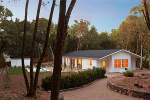 Contemporary Ranch style home, inspired by Joseph Esherick
