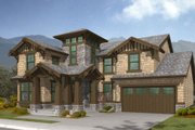 Craftsman Style House Plan - 3 Beds 2.5 Baths 2805 Sq/Ft Plan #132-128 Exterior - Front Elevation