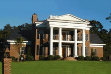 Dream House Plan - Southern Exterior - Front Elevation Plan #137-120