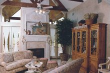 Southern Interior - Family Room Plan #20-254