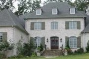 European Style House Plan - 4 Beds 4 Baths 4627 Sq/Ft Plan #81-1345 Exterior - Front Elevation