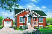Traditional Style House Plan - 2 Beds 1 Baths 896 Sq/Ft Plan #23-595