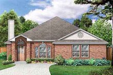 House Design - Traditional Exterior - Front Elevation Plan #84-221