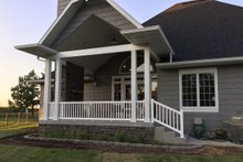 Dream House Plan - Craftsman Exterior - Covered Porch Plan #48-639