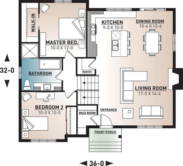Floor Plan - Main Floor Plan Plan #23-138