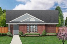 Dream House Plan - Ranch Exterior - Front Elevation Plan #84-452