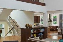 Architectural House Design - Contemporary Interior - Family Room Plan #928-315