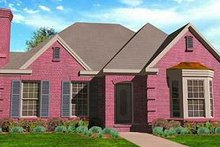 House Plan Design - European Exterior - Front Elevation Plan #410-330