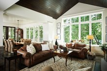 Traditional Interior - Family Room Plan #928-300