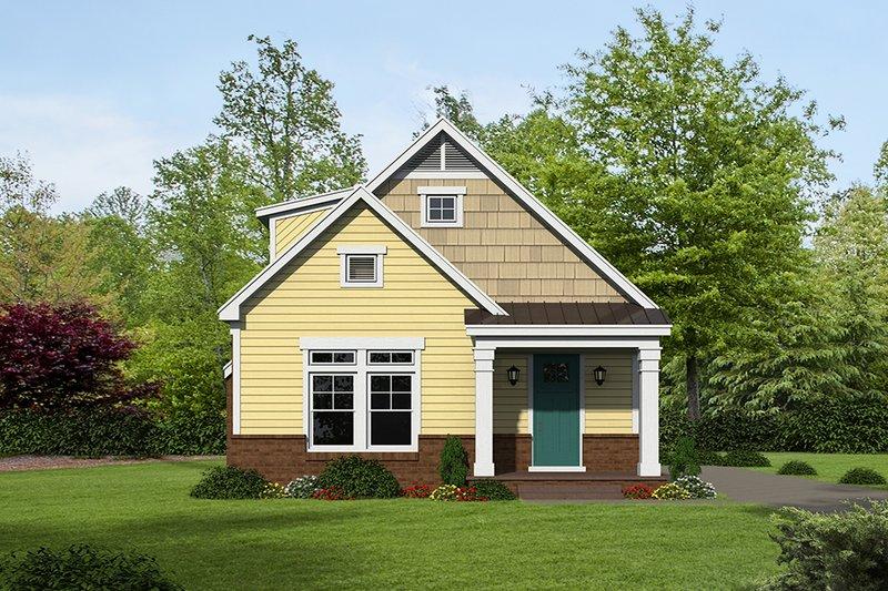 Dream House Plan - Cottage Exterior - Front Elevation Plan #932-24