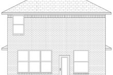 Craftsman Exterior - Rear Elevation Plan #84-500