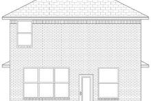 Home Plan - Craftsman Exterior - Rear Elevation Plan #84-500