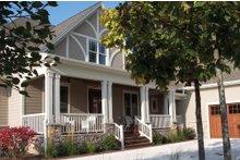 Dream House Plan - Craftsman Exterior - Front Elevation Plan #927-2